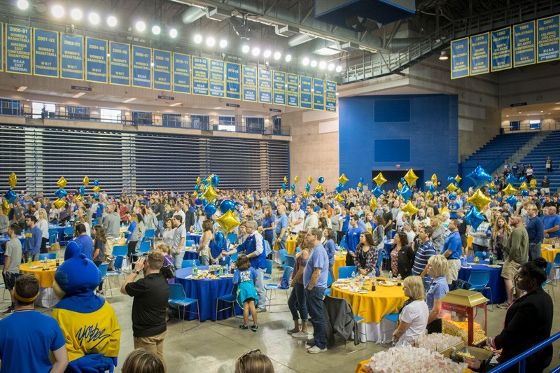 The Bob Carpenter Center was the site for the Family Fest Tailgate on Oct. 14, 2017, during Parents and Family Weekend at the University of Delaware.