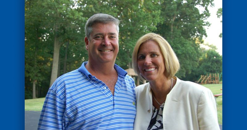 Terri (right) and John Kelly graduated from the University of Delaware in 1983. Terri, former president and CEO of W.L. Gore & Associates, has served on the University's Board of Trustees for seven years.