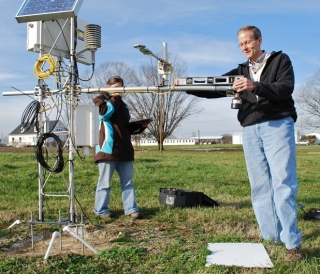 As Delaware's State Climatologist, Leathers is responsible for collecting weather and climate information for the state.