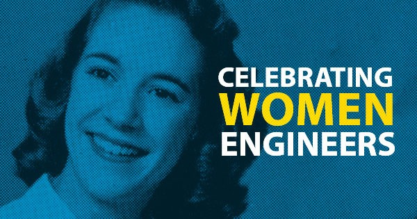 From our first student to today's faculty, UD's female engineers are making history.