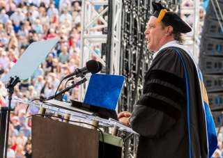 Commencement speaker Stephen Mosko