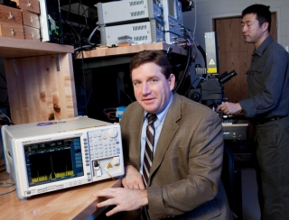 Dennis Prather, Engineering Alumni Professor in the Department of Electrical and Computer Engineering (ECE), is an international scholar and world leader in the development of new radiofrequency photonics technologies.