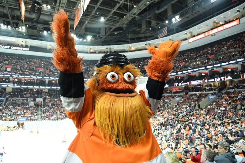 Gritty is the Philadelphia Flyers hockey team's new mascot, which has prompted much discussion among the team's fans.