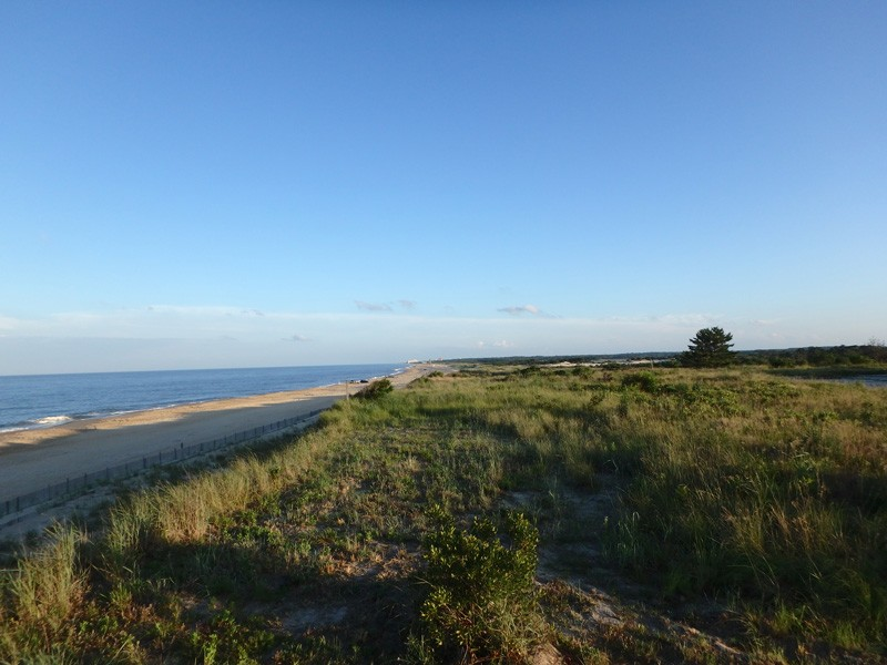 A view of the coast near Lewes, Delaware.