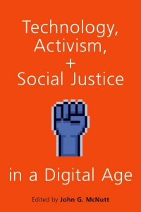 "Book cover for ""Technology, Activism and Social Justice in a Digital Age"""