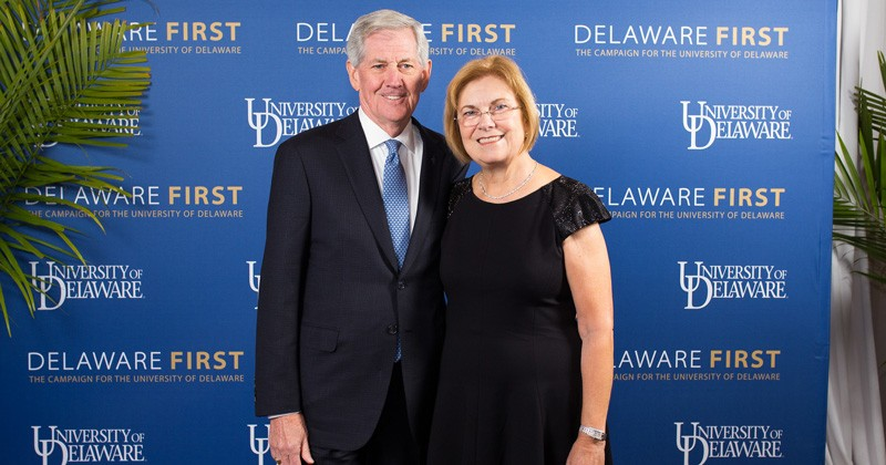 John and Patricia Cochran have generously donated $6 million through the Delaware First campaign since its inception in 2010.