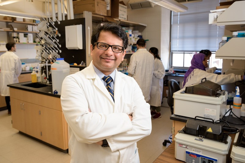 The National Institutes of Health has awarded University of Delaware biologist Salil Lachke $1.7 million for his research on genetic disorders that obstruct healthy eye development.