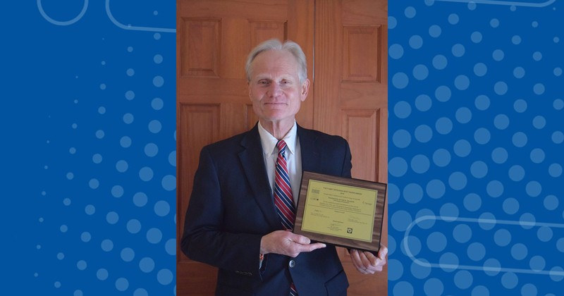Victor Kaliakin received the Fumio Tatsuoka Best Paper Award of 2018 for a work detailing advanced mathematical models to predict the behavior of clay soils.