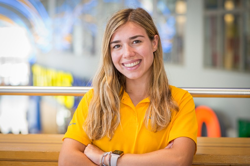 Jessica Harding, a junior, is majoring in energy and environmental policy.