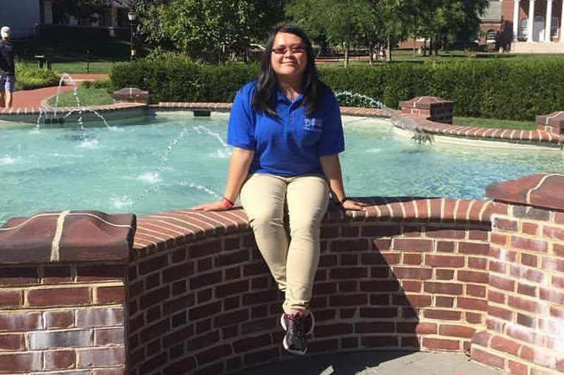 Janna He, a senior, is majoring in medical laboratory sciences.