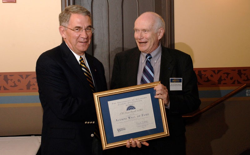 T.W. Fraser Russell inducted into UD Alumni Wall of Fame