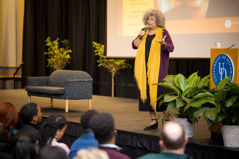 Angela Davis said that while the prominent civil rights leaders get most of the attention, it was essential for all people to engage in the fight to eliminate racism.