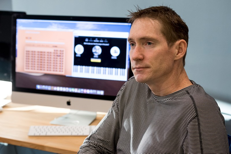 Neuroscientist Keith Schneider is director of the University of Delaware's Center for Biomedical and Brain Imaging.