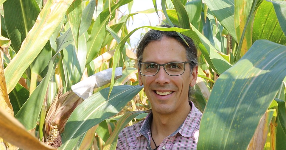 Ivan Hiltpold, an assistant professor of entomology and wildlife ecology in UD's College of Agriculture and Natural Resources, grew up in Switzerland. Years later, he did research in Australia and joined UD in 2016.