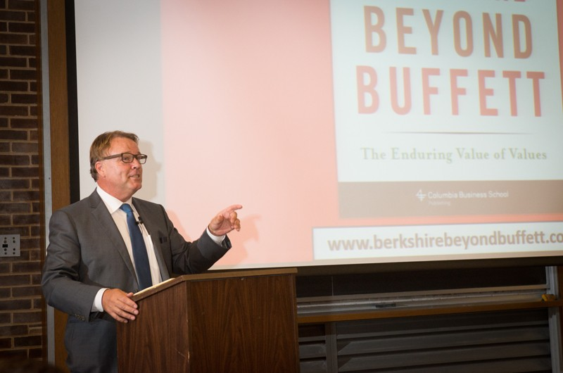 "Presenting the 2014 Chaplin Tyler Lecture at UD, Lawrence Cunningham speaks about his book, ""Berkshire Beyond Buffett."""