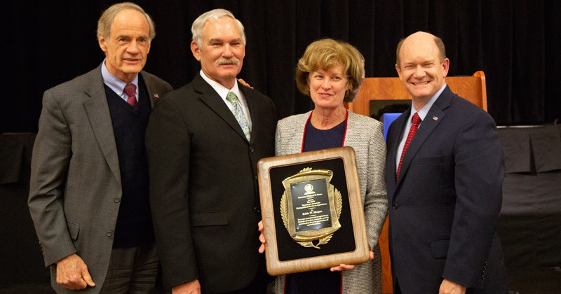 Provost Robin Morgan honored