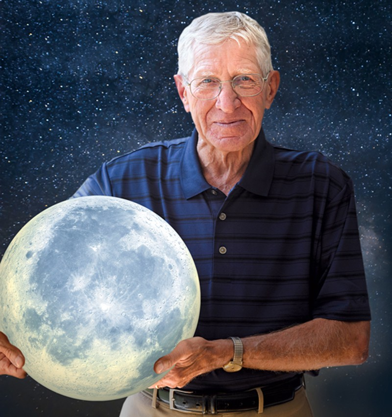 "UD grad Homer ""Sonny"" Reihm worked for ILC Industries — now ILC of Dover — and guided the group that made space suits for Apollo missions, including Apollo 11."