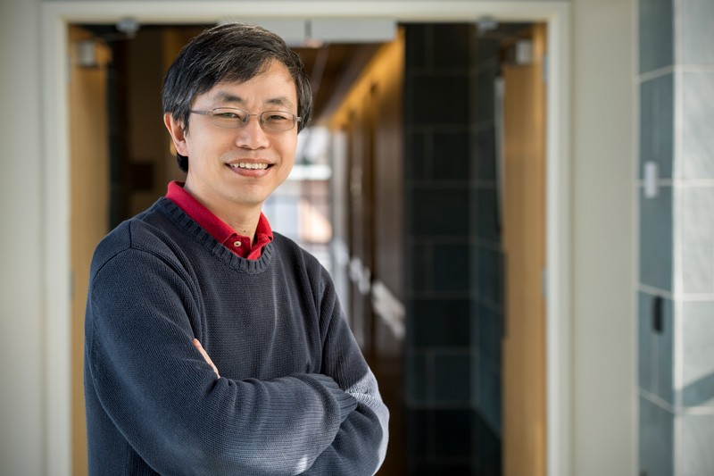Yushan Yan, the Distinguished Engineering Professor in the Department of Chemical and Biomolecular Engineering.