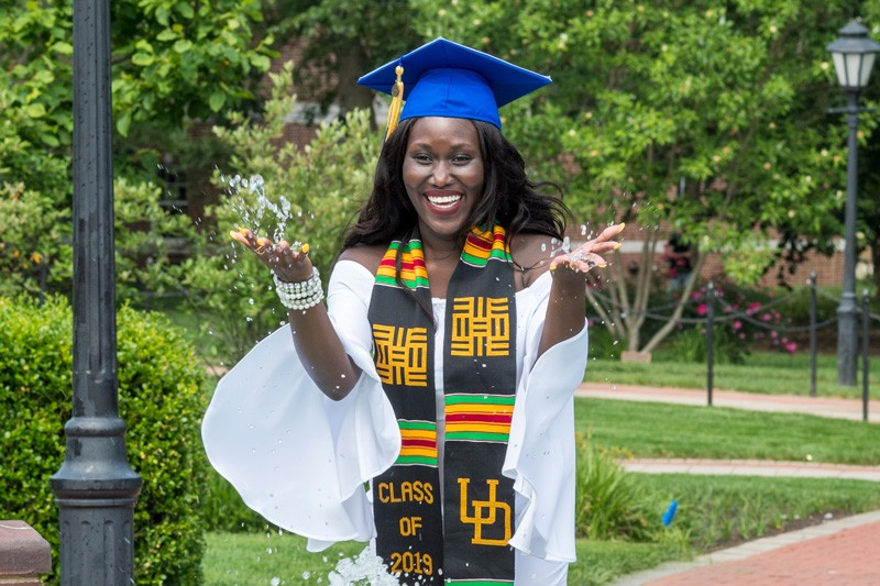 Nana Marfo earned a degree in neuroscience. Her next stop is medical school.