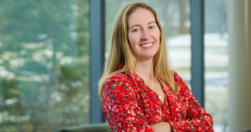 Jill Higginson, a professor of mechanical engineering and biomedical engineering at the University of Delaware, was inducted into the College of Fellows of the American Institute for Medical and Biological Engineering (AIMBE) on Monday, March 25, 2019.