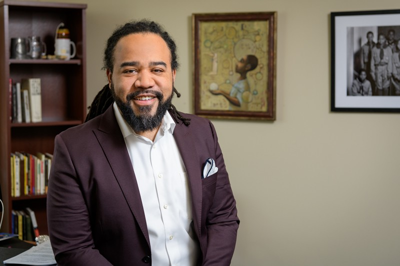 Roderick Carey, assistant professor in the Department of Human Development and Family Sciences (HDFS), will present his research at this semester's Race and Culture lecture series on Thursday, March 14