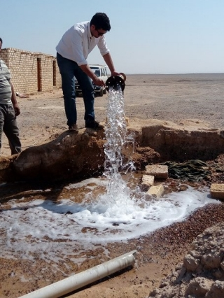 Neil Sturchio, professor and chair of the Department of Geological Sciences in UD's College of Earth, Ocean and Environment, said that the Egypt's Eastern Desert is interesting because while it is still dry and arid, it gets more rain than the Western Desert.