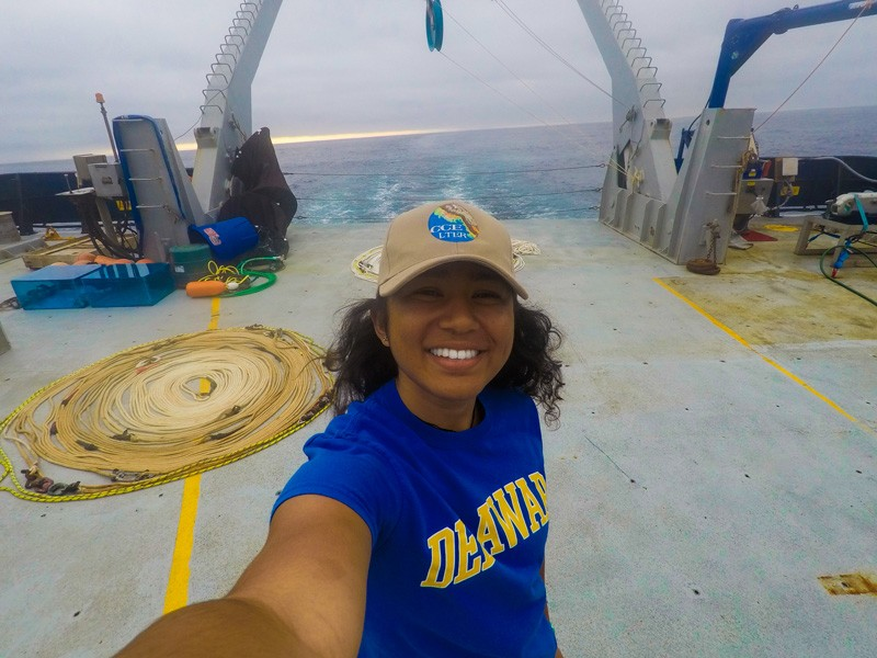 Now set for graduation, UD student Shailja Gangrade is looking forward to life as a doctoral student at the Scripps Institution of Oceanography, which is part of the University of California, San Diego.