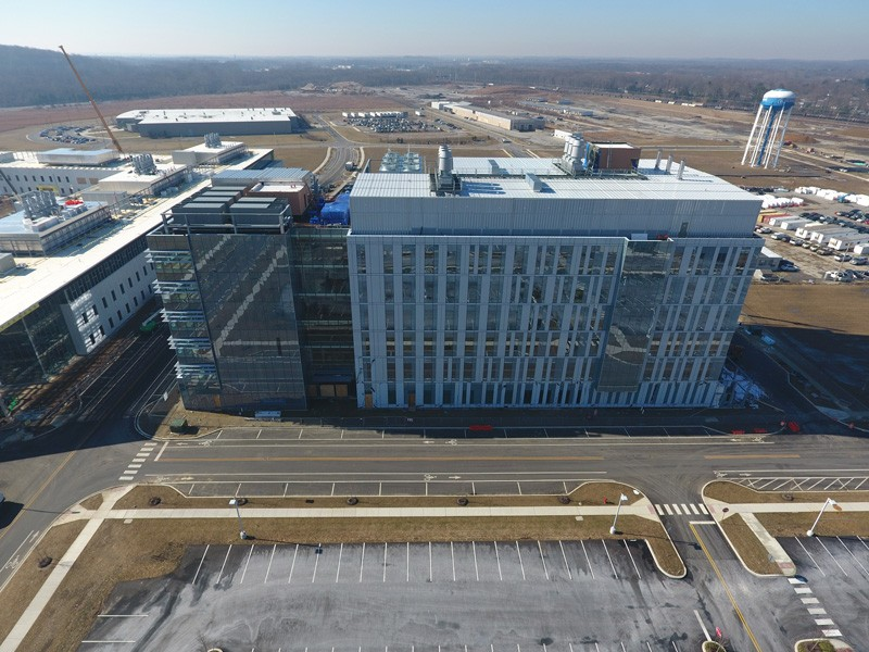 The Ammon Pinizzotto Biopharmaceutical Innovation Center, which is under construction at the Science, Technology and Advanced Research (STAR) Campus, will provide necessary space for biopharmaceutical research and related classes on UD's STAR Campus and serve as a hub for industry partnership.