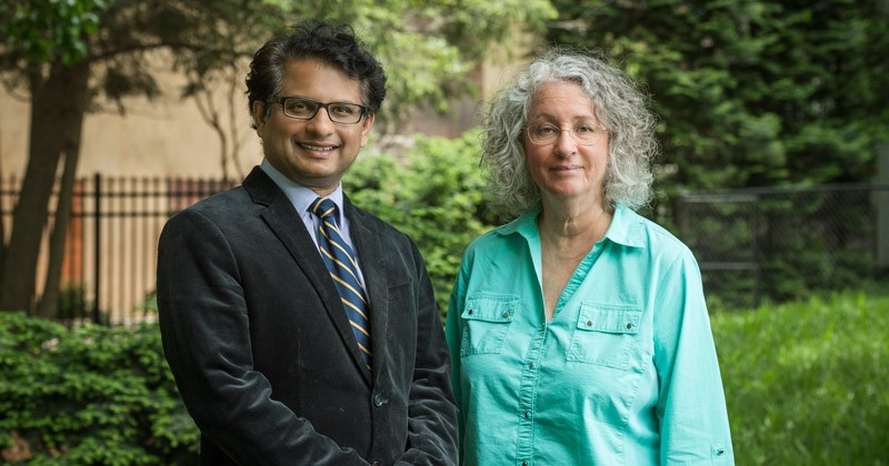 Salil Lachke and Susan Groh
