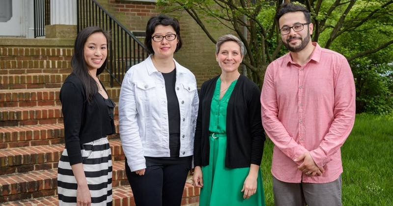 Recipients of the 2019 Excellence in Graduate Student Teaching Award