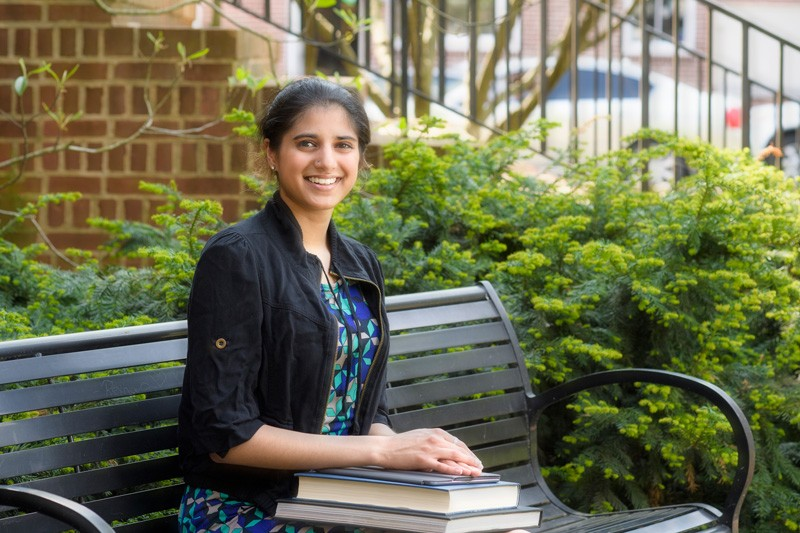 University of Delaware junior Yasmin Mann has won a prestigious Goldwater Scholarship to support her pursuit of medicine and research.