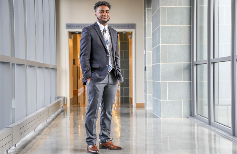 Delaware native Nasir Wilson says he looks forward to a career representing the U.S. abroad.