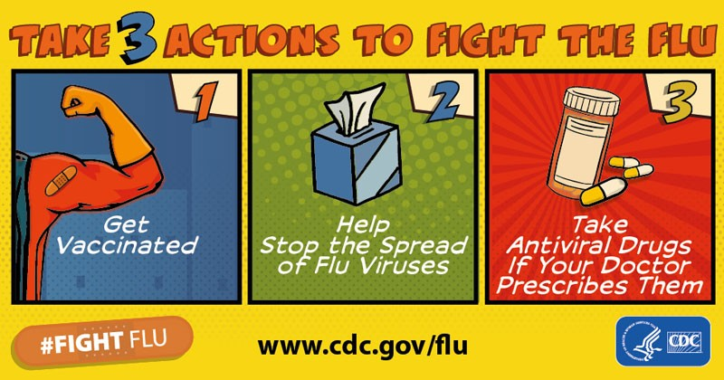 Take action against the flu