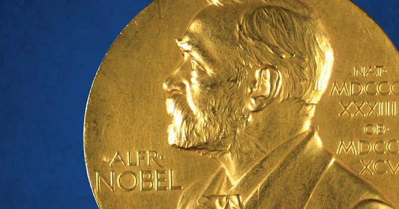 The Nobel Prize medal