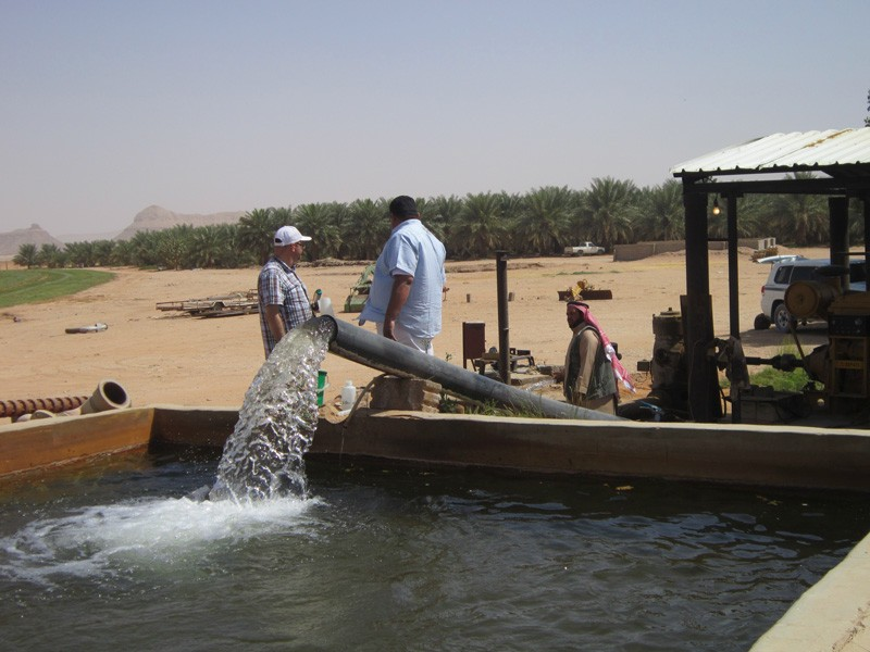 Researchers in the Arabian Peninsula are conducting a study to assess the age, origin and sustainability of fossil aquifers in the Mega Aquifer System (MAS) in the Arabian Peninsula.