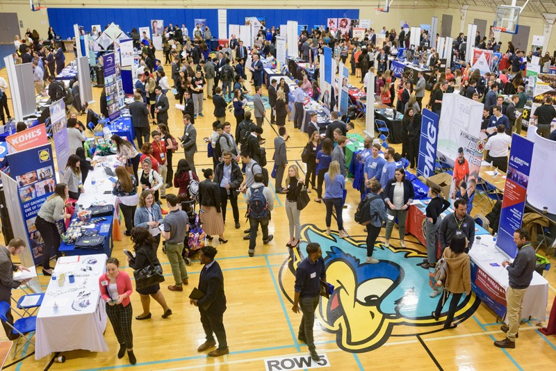 One career fair will focus on engineering, science and technology, while the second will focus on jobs and internships related to all other majors.