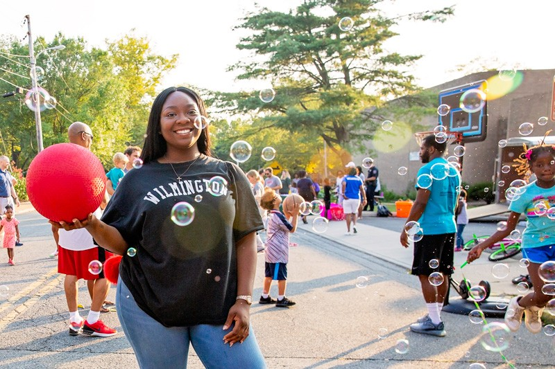 University of Delaware graduate Adaeze Ashiedu grew up in Wilmington, which she said made her work with Play Streets even more meaningful. She helped the Wilmington Parks and Recreation Department with evaluation of the program, which closed streets in the city and opened them up for recreational play.