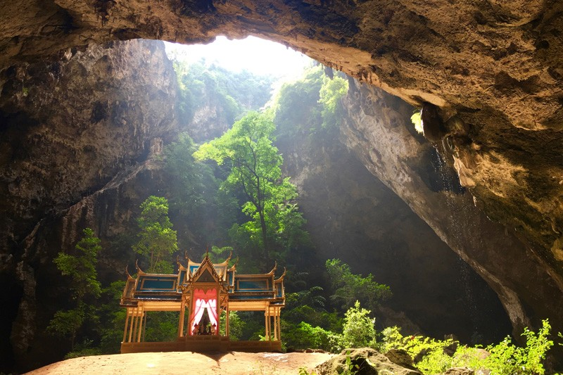Cave image in Thailand