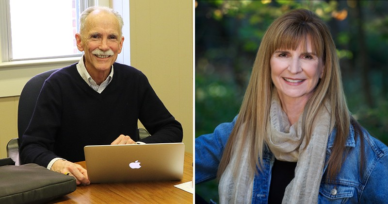 University of Delaware School of Education Professors Charles A. MacArthur (left) and Nancy C. Jordan were selected as American Educational Research Association Fellows for 2020.