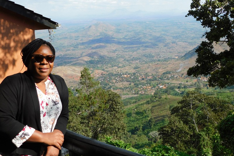 Estella Atekwana, dean of the College of Earth, Ocean and Environment, was in the African nation of Malawi while conducting fieldwork to understand how continents break apart to form ocean basins.
