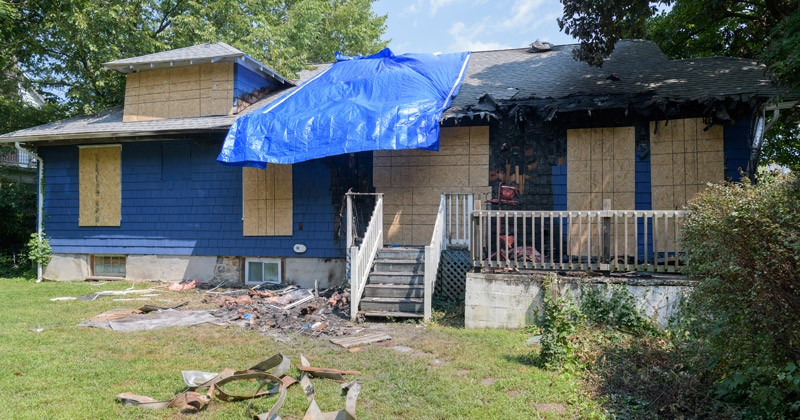 Chabad Center damaged by fire