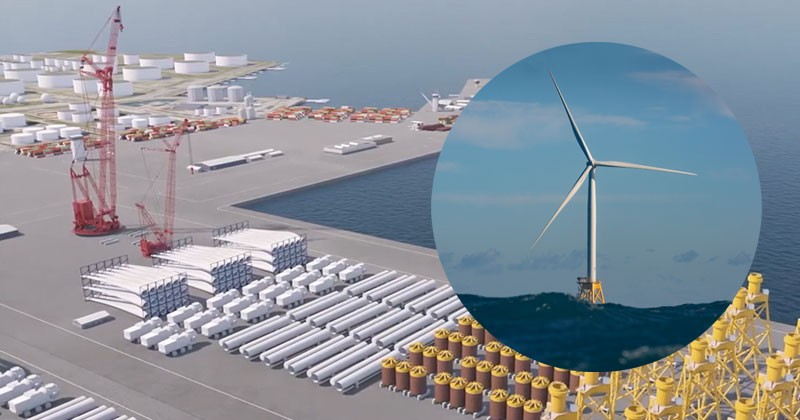 A University of Delaware study has identified two prime East Coast locations for marshalling ports in Delaware Bay — sites with the acreage, area and access to support the infrastructure required for deploying offshore wind farms.