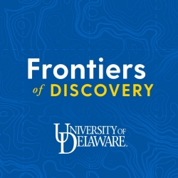 Logo for Frontiers of Discovery series on undergraduate research