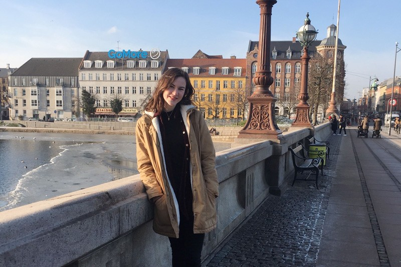 Catherine Zimmerman first traveled to Copenhagen as a UD study abroad student. Next year, she will return with a Fulbright Research Award.