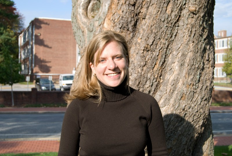 Holly Michael is the Unidel Fraser Russell Career Development Chair in Environment and professor in UD's departments of Earth Sciences and Civil and Environmental Engineering.