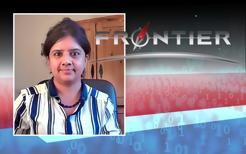 University of Delaware Prof. Sunita Chandrasekaran is leading an international team designing an application for the Frontier exascale supercomputer, now being built at Oak Ridge National Laboratory.