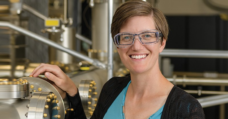 The University of Delaware's Stephanie Law, associate professor of materials science and engineering and co-director of the UD Materials Growth Facility, received the Young Investigator Award from the 21st International Conference on Molecular Beam Epitaxy 2020.